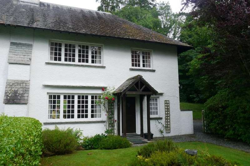 3 Bedrooms Semi Detached House for sale in Riggeswood, 2 Broomriggs Cottages, Near Sawrey, LA22 0JX