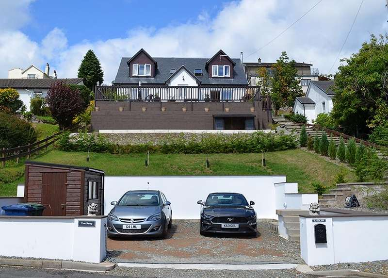 4 Bedrooms Detached House for sale in North Campbell Road, Innellan, Argyll and Bute, PA23 7SD
