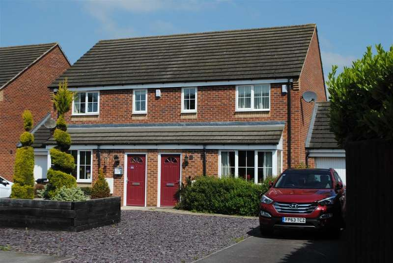 3 Bedrooms Semi Detached House for sale in Ridings Close, Asfordby