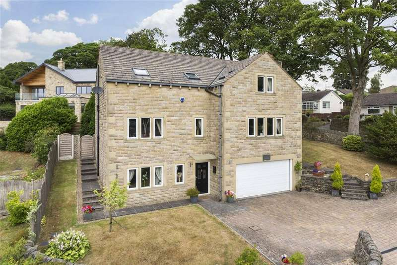 6 Bedrooms Detached House for sale in Woodridge, Moorhouse Lane, Oxenhope, BD22