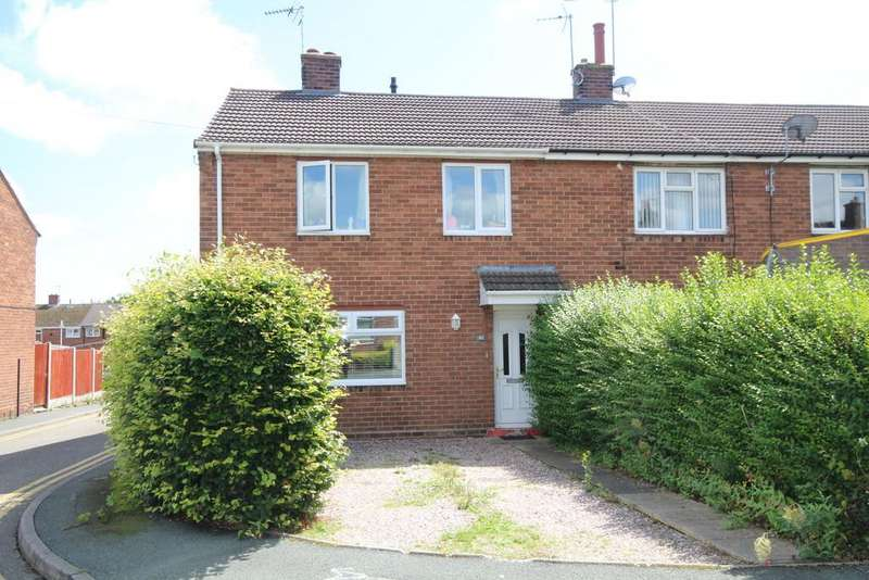 3 Bedrooms End Of Terrace House for sale in Bryn Offa