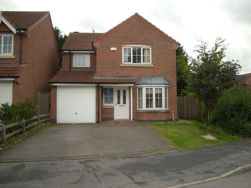 4 Bedrooms Detached House for sale in Fludes Court, Oadby, LE2