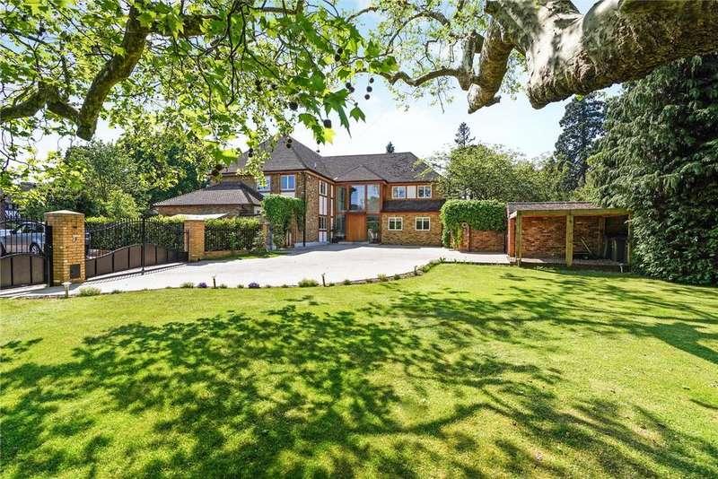 5 Bedrooms Detached House for sale in Ashley Park Avenue, Walton-on-Thames, Surrey, KT12