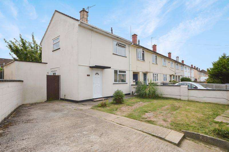 2 Bedrooms End Of Terrace House for sale in Greenditch Avenue, Bristol