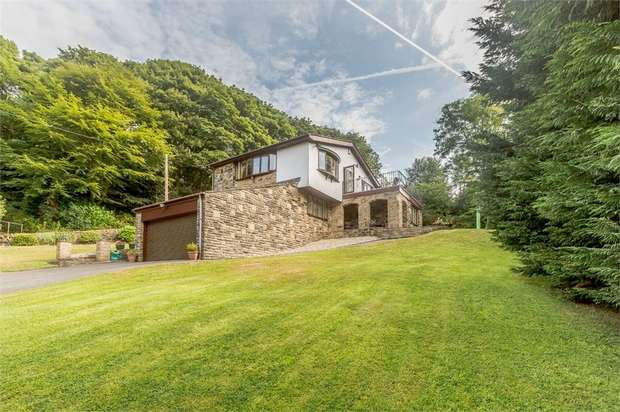 4 Bedrooms Detached House for sale in Stansfield Hall Road, Todmorden, West Yorkshire