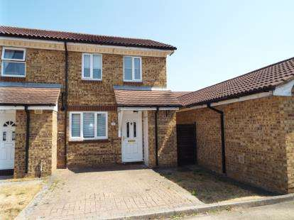 3 Bedrooms Semi Detached House for sale in Brimfield Close, Luton, Bedfordshire