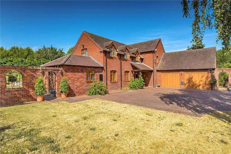 4 Bedrooms Detached House for sale in 25 Shawbirch Road, Admaston, Telford, Shropshire, TF5
