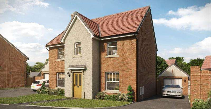 4 Bedrooms Detached House for sale in The Roxbury, Pastures Green, Cwmbran