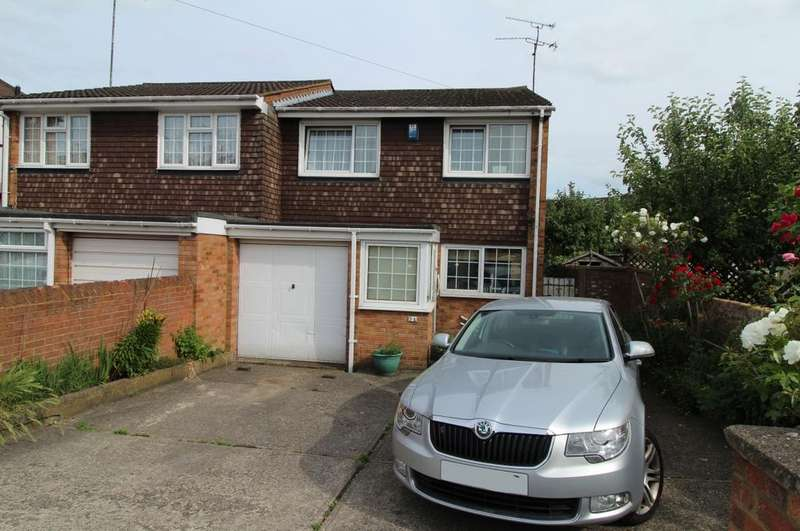 4 Bedrooms Semi Detached House for sale in Oakley Close, Luton