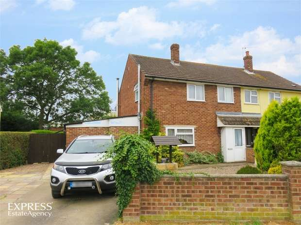 3 Bedrooms Semi Detached House for sale in River Lane, Anwick, Sleaford, Lincolnshire