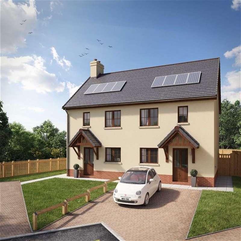2 Bedrooms Semi Detached House for sale in Mill Bay Development, Cilgerran, Pembrokeshire