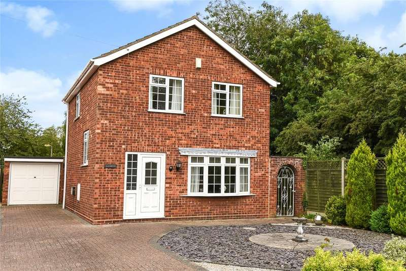 3 Bedrooms Detached House for sale in Vanwall Drive, Waddington, LN5