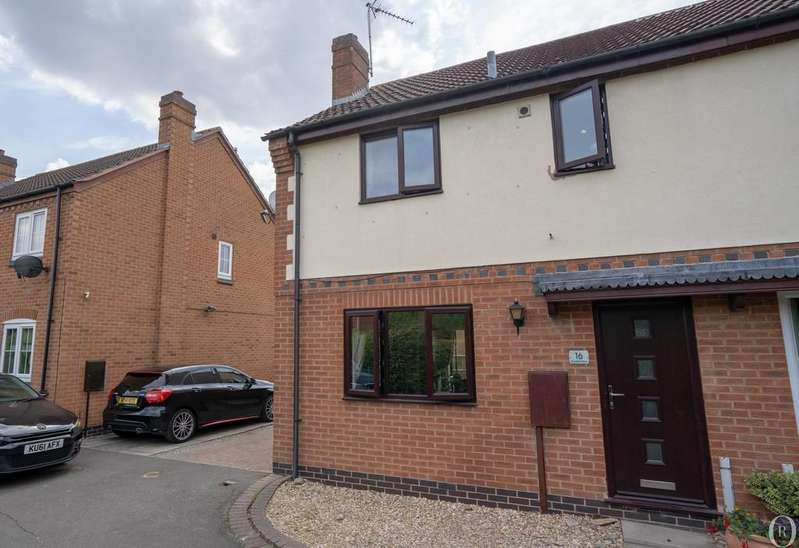 3 Bedrooms Semi Detached House for sale in Thornhills Grove, Narborough, Leicester