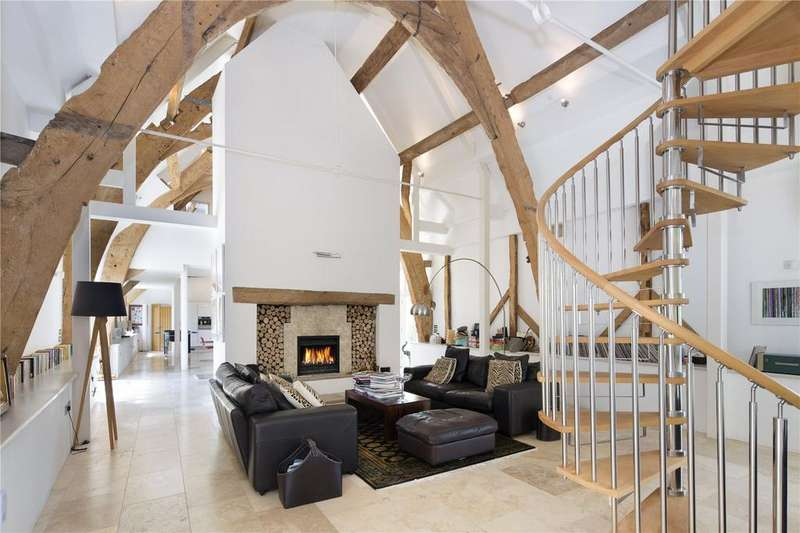 5 Bedrooms Detached House for sale in Northmoor, Witney, Oxfordshire, OX29