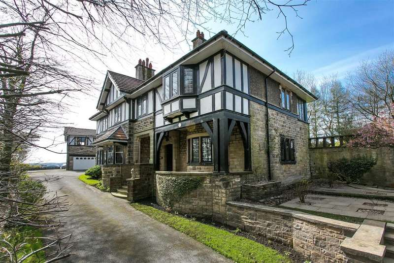 6 Bedrooms Detached House for sale in Rockwood, Nelson Road, Briercliffe, Burnley