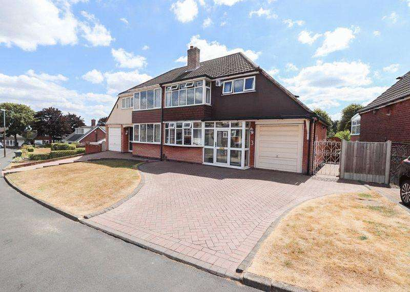 3 Bedrooms Semi Detached House for sale in Greenacre Road, Tipton