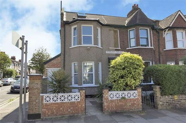 4 Bedrooms End Of Terrace House for sale in Woodlands Park Road, London