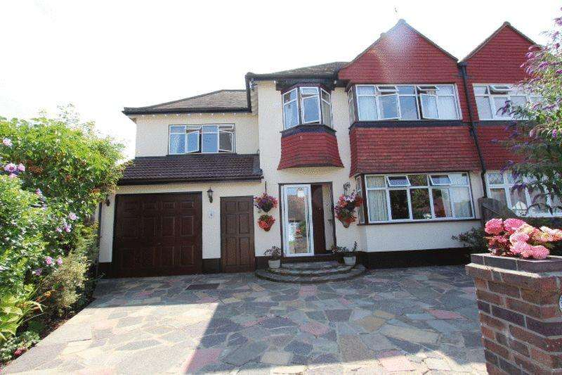 4 Bedrooms Semi Detached House for sale in Park Hill Close, Carshalton