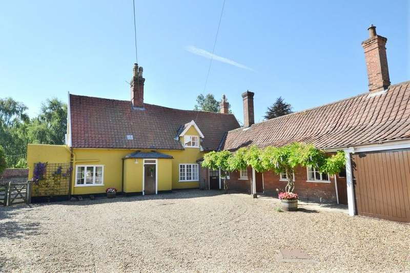 4 Bedrooms Detached House for sale in The Green, Palgrave, Suffolk