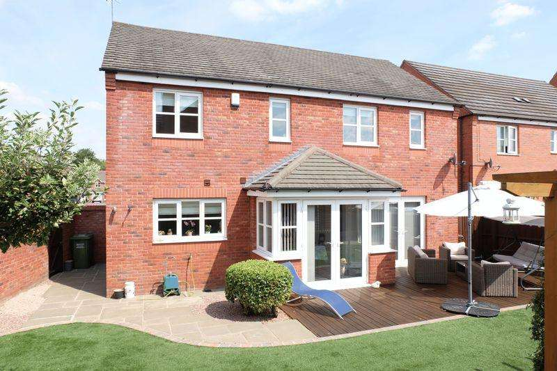 4 Bedrooms Detached House for sale in Evergreen Way, Stourport-On-Severn DY13 9GH