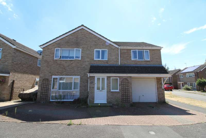 5 Bedrooms Detached House for sale in Welland Drive, Newport Pagnell,Buckinghamshire