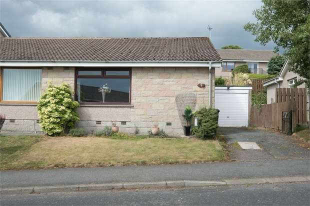 2 Bedrooms Semi Detached Bungalow for sale in Braecroft Drive, Westhill, Aberdeenshire