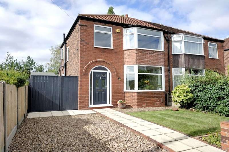 3 Bedrooms Semi Detached House for sale in Rudyard Grove, Stockport, SK4