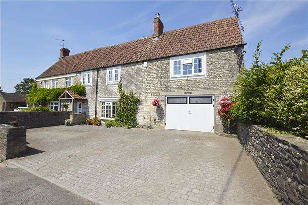 4 Bedrooms Semi Detached House for sale in Paulton Road, Hallatrow, Bristol, BS39 6EQ