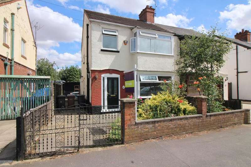 3 Bedrooms Semi Detached House for sale in Felix Avenue, Luton, Bedfordshire, LU2 7LE