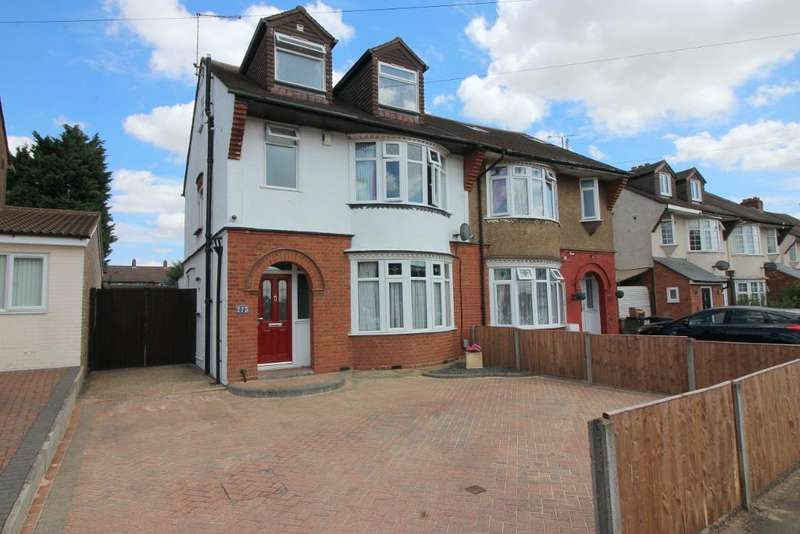 4 Bedrooms Semi Detached House for sale in Ashcroft Road, Luton, Bedfordshire, LU2 9AA