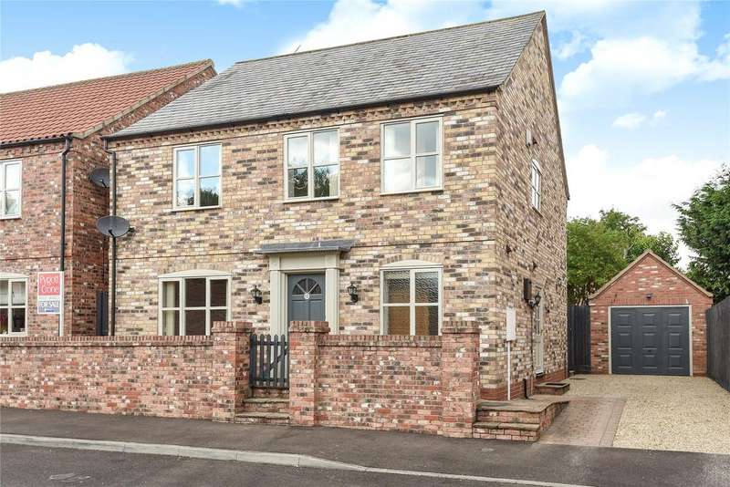 4 Bedrooms Detached House for sale in Chestnut Close, Nocton, LN4