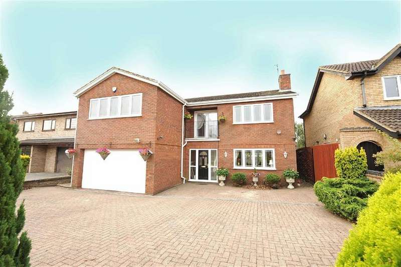 4 Bedrooms Detached House for sale in Heath Rise, Wellingborough