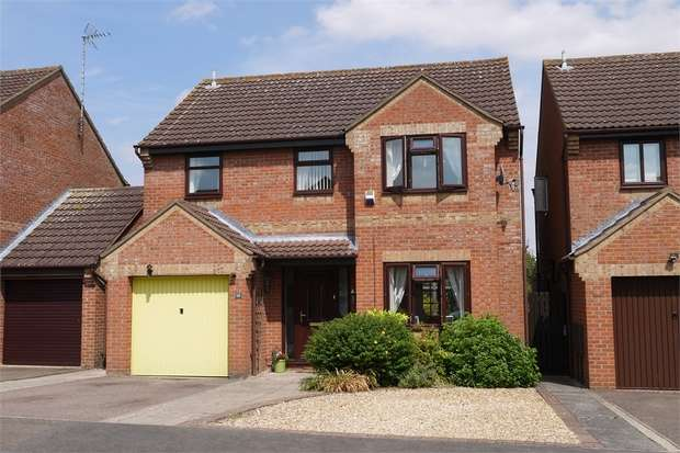 4 Bedrooms Detached House for sale in Austins Close, Market Harborough, Leicestershire
