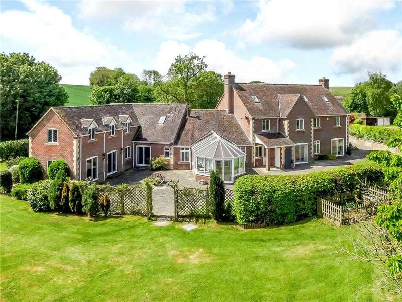 6 Bedrooms Detached House for sale in Coombe Lane, Enford, Pewsey, Wiltshire