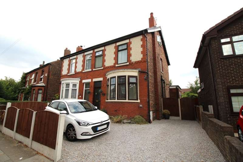 4 Bedrooms Semi Detached House for sale in Worsley Road, Eccles, Manchester, M30