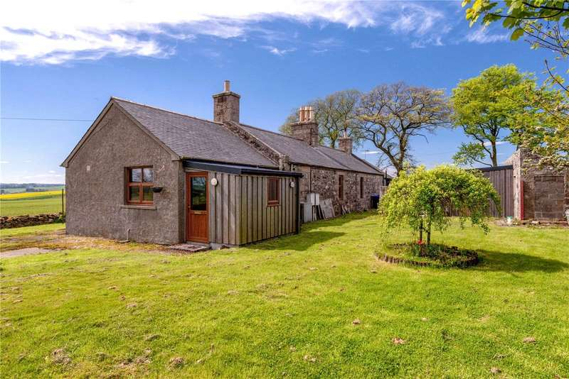 3 Bedrooms Semi Detached House for sale in 4 Shethin Cottages, Tarves, Ellon, Aberdeenshire, AB41