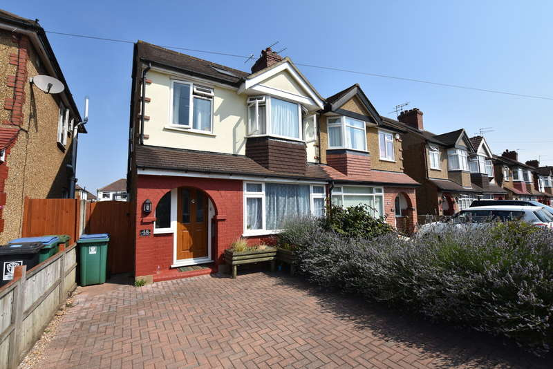 4 Bedrooms Semi Detached House for sale in Kingswood Road, Garston Watford