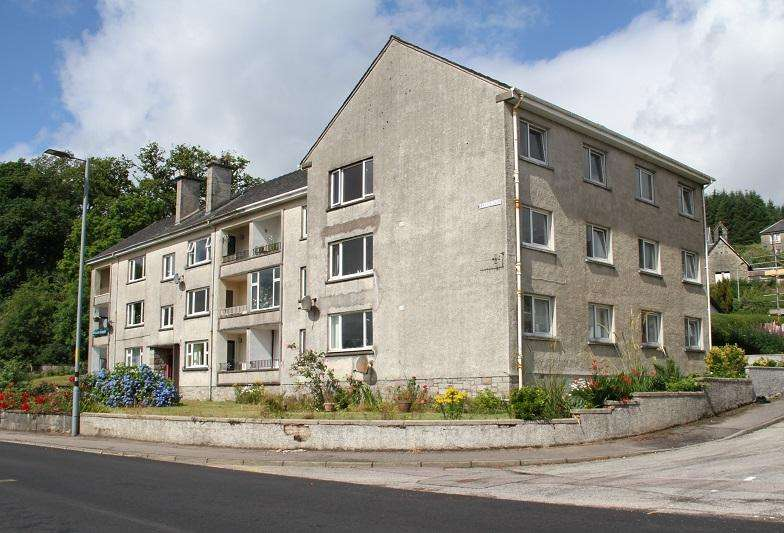 3 Bedrooms Flat for sale in Hillview Terrace, Ardrishaig PA30