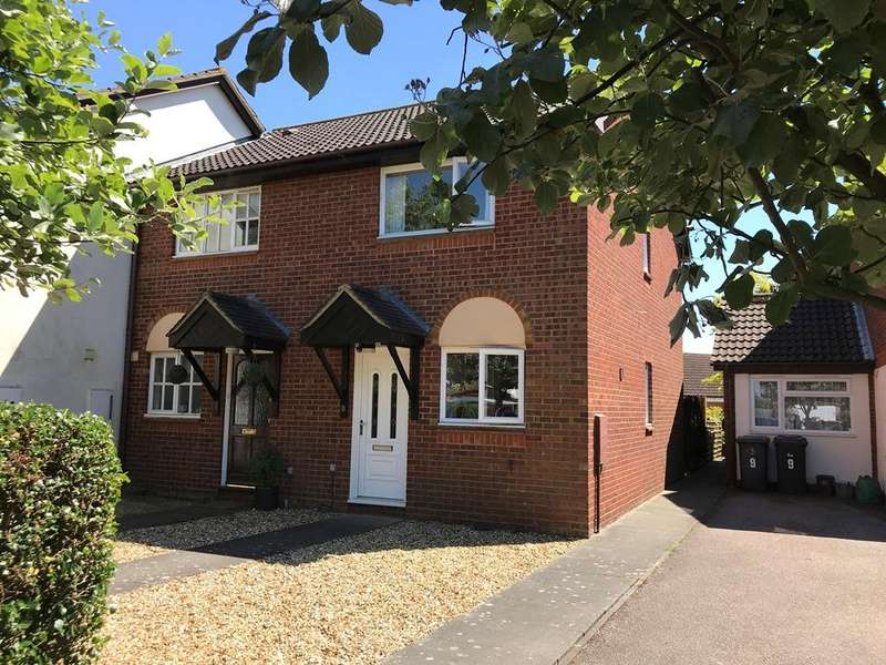 2 Bedrooms End Of Terrace House for sale in paddocks Chase, Potton, Bedfordsire SG19