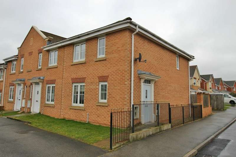 3 Bedrooms End Of Terrace House for sale in Sunningdale Way, Gainsborough