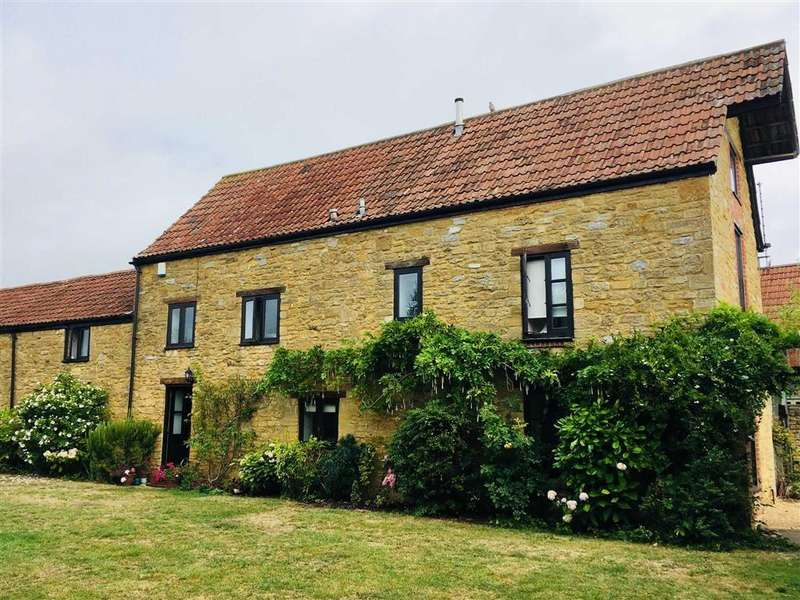 5 Bedrooms Detached House for sale in Stapleton, Martock, Somerset, TA12