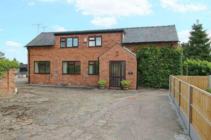 3 Bedrooms Detached House for sale in Wrenbury Wood, Wrenbury, Nantwich