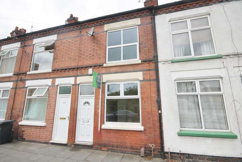 2 Bedrooms Terraced House for sale in Western Road, West End, Leicester LE3