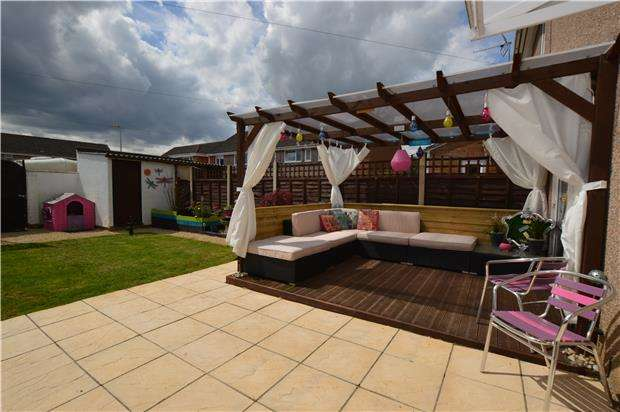 3 Bedrooms Terraced House for sale in Celestine Road, Yate, BRISTOL, BS37 5ED