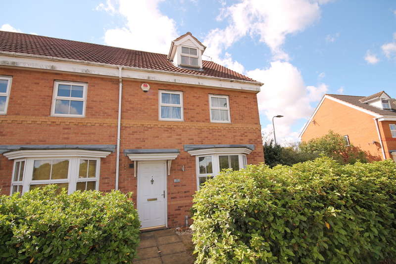3 Bedrooms Town House for sale in Abbey Fields, Elstow, MK42