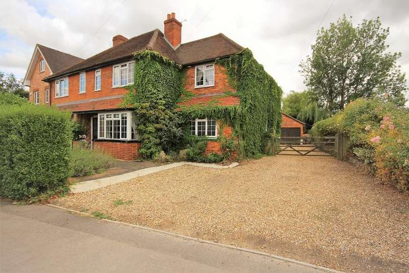 4 Bedrooms Semi Detached House for sale in Emmbrook Road, Wokingham