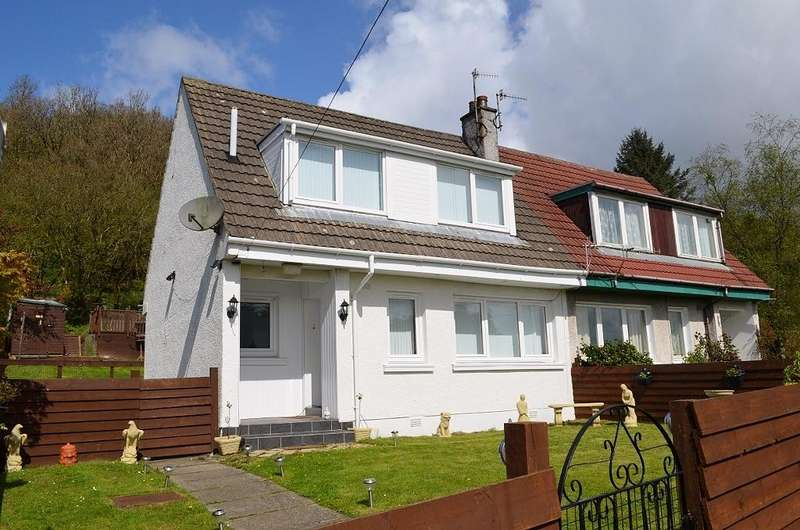2 Bedrooms Semi Detached House for sale in Miller Avenue, Innellan, Argyll and Bute, PA23 7SU
