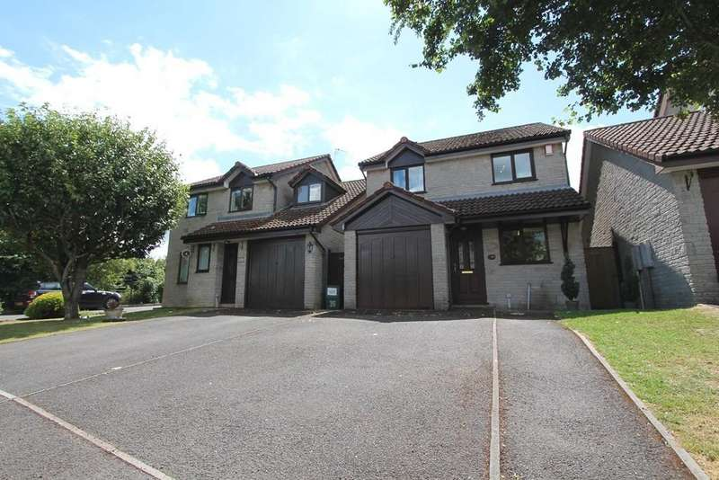 4 Bedrooms Detached House for sale in Ludwells Orchard, Paulton, Bristol