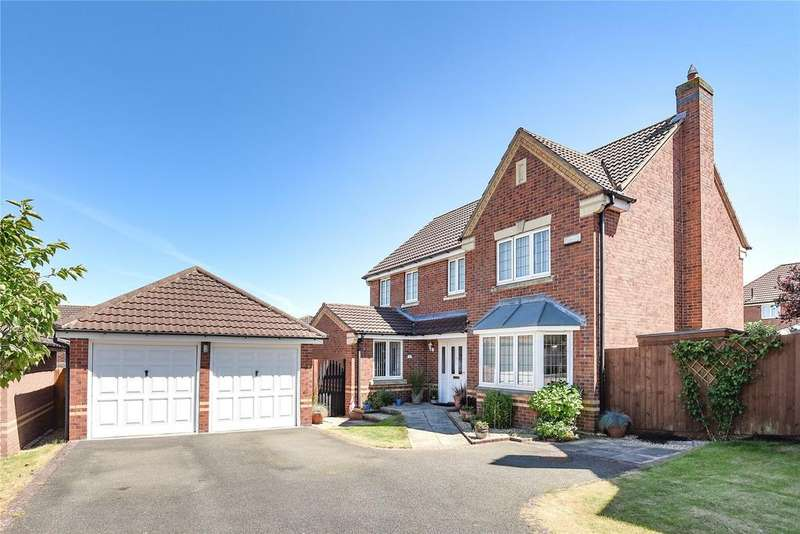 4 Bedrooms Detached House for sale in Wren Close, Sleaford, NG34