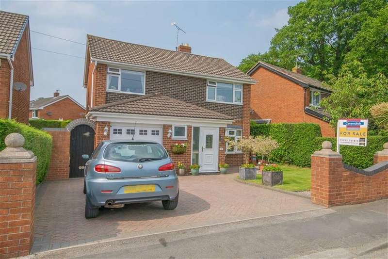 4 Bedrooms Detached House for sale in Higher Common Road, Buckley